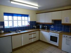 Thornton-le-Beans village hall kitchen